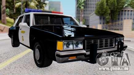 Chevrolet Caprice 1980 SA Style LVPD für GTA San Andreas