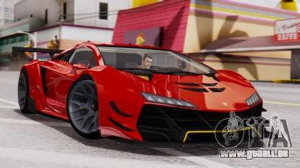 Pegassi Zentorno SM GT3 für GTA San Andreas