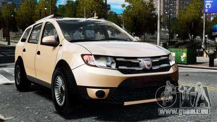 Dacia Logan MCV Stepway 2014 pour GTA 4