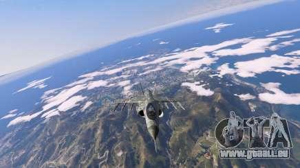 Amerikanischen Militär-Färbung für Hydra für GTA 5