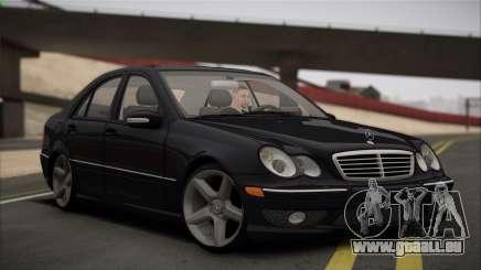 Mercedes-Benz C32 W203 2004 für GTA San Andreas