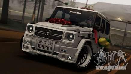 Mercedes Benz G65 Hamann Tuning Wedding Version für GTA San Andreas