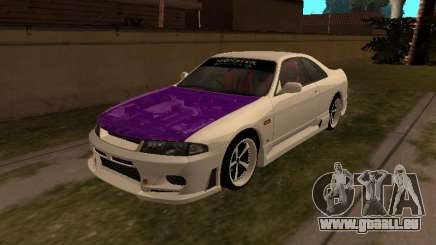 Nissan Skyline R33 Drift Monster Energy JDM für GTA San Andreas