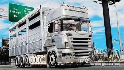 Scania R580 pour GTA 4