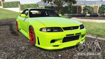 Nissan Skyline BCNR33 [Beta] pour GTA 5
