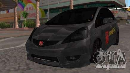 Honda Fit 2009 Faketaxi für GTA San Andreas