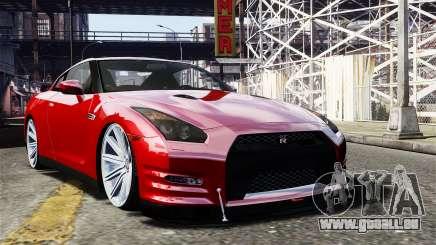 Nissan GT-R AMS 2012 pour GTA 4