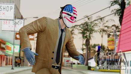 [PayDay2] Dallas pour GTA San Andreas