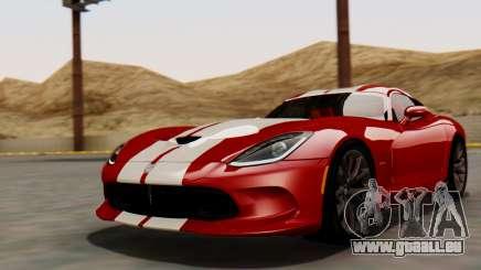 Dodge Viper SRT GTS 2013 HQLM (MQ PJ) für GTA San Andreas
