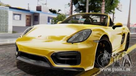 Porsche Boxter GTS 2016 für GTA San Andreas