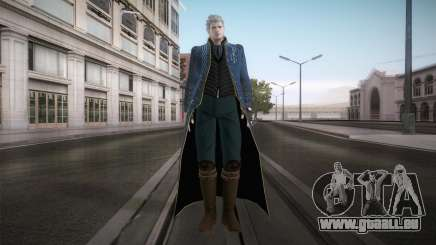 New Vergil from DMC pour GTA San Andreas