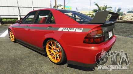 Der HKS-Aufkleber auf Sultan für GTA 5