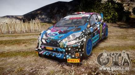 Ford Fiesta RS Ken Block 2015 pour GTA 4