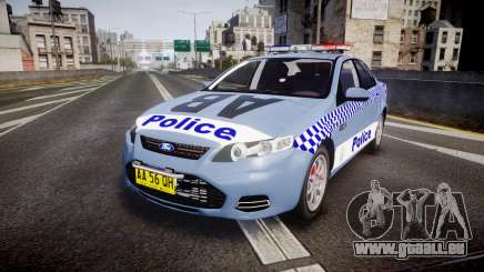 Ford Falcon FG XR6 Turbo NSW Police [ELS] v2.0 pour GTA 4