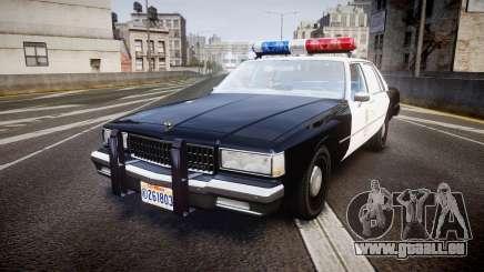 Chevrolet Caprice 1989 LAPD [ELS] für GTA 4