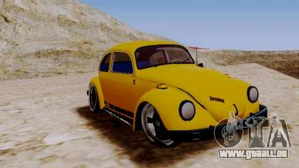 Volkswagen Beetle 1975 Jeans Édition Personnalisée pour GTA San Andreas