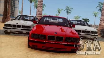BMW M5 E34 BUFG Edition pour GTA San Andreas