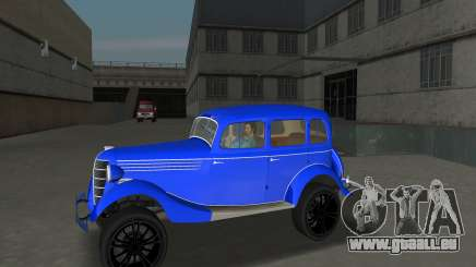 GAZ 11-73 Bleu Royal pour GTA Vice City