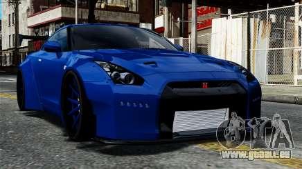Nissan GT-R R35 Liberty Walk pour GTA 4
