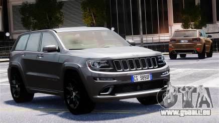 Jeep Grand Cherokee SRT8 2015 pour GTA 4