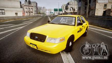 Ford Crown Victoria 2011 NYC Taxi pour GTA 4