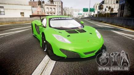 McLaren MP4-12C GT3 blank liveries pour GTA 4