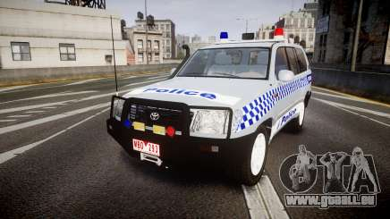Toyota Land Cruiser 100 2005 Police [ELS] pour GTA 4