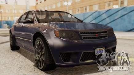 GTA 5 Cheval Fugitive IVF für GTA San Andreas
