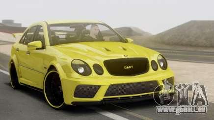 Mercedes-Benz E63 Qart Tuning pour GTA San Andreas