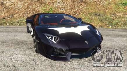 Lamborghini Aventador LP700-4 Batman v1 für GTA 5