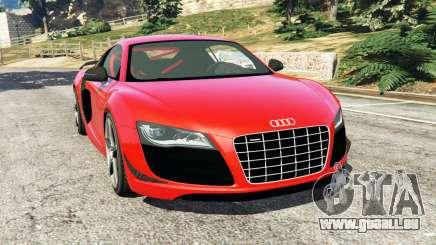 Audi R8 GT 2011 v0.5 [Beta] pour GTA 5