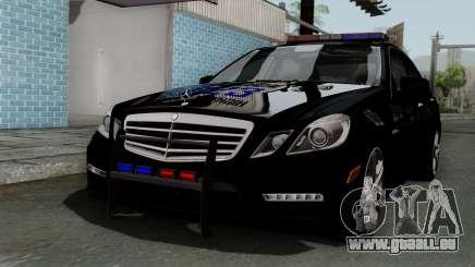 Mercedes-Benz E63 AMG Police Edition pour GTA San Andreas