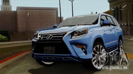 Lexus GX460 2014 v1 pour GTA San Andreas