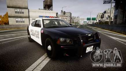 Dodge Charger Police Liberty City [ELS] pour GTA 4
