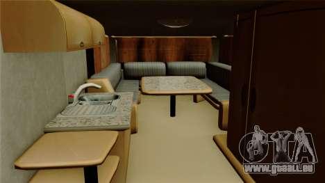 Camper Trailer für GTA San Andreas Rückansicht