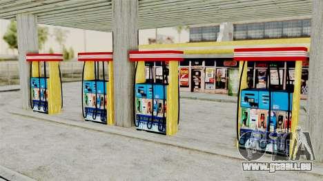 LS CJ Gas v2 pour GTA San Andreas troisième écran