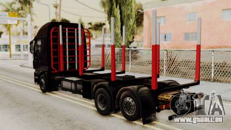 Iveco Truck from ETS 2 v2 pour GTA San Andreas laissé vue