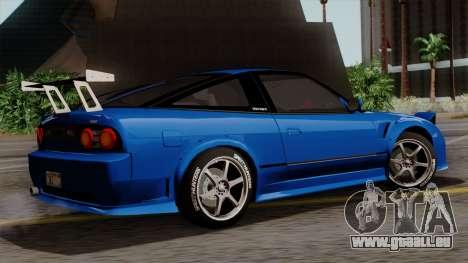 Nissan 180SX Street für GTA San Andreas Innenansicht