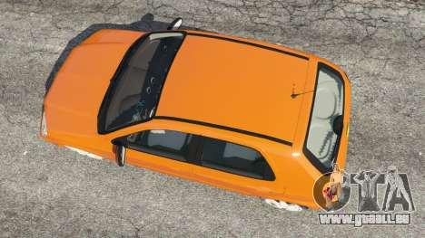 GTA 5 Chevrolet Celta vue arrière