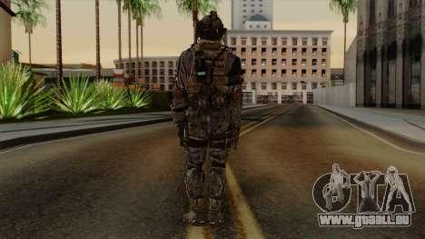 CoD Custom Ghost Retextured pour GTA San Andreas troisième écran