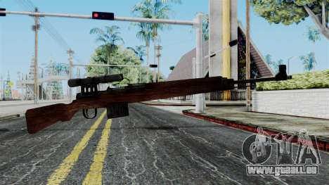 Gewehr 43 ZF from Battlefield 1942 pour GTA San Andreas