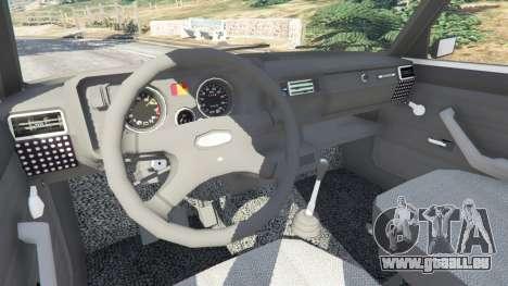 GTA 5 La VAZ-2105 droite vue latérale