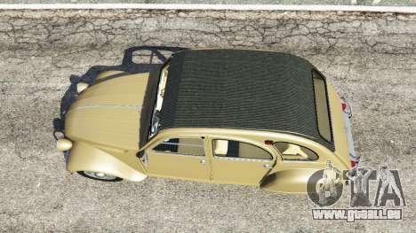 GTA 5 Citroen 2CV Rückansicht