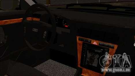 Audi A8 D2 pour GTA San Andreas vue de droite