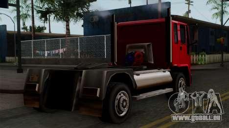 DFT-30 Truck pour GTA San Andreas laissé vue