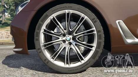 BMW 750Li 2016 v1.1 pour GTA 5