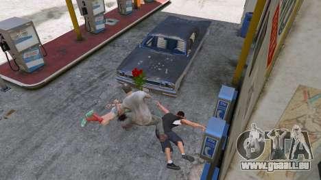 GTA 5 Un bouquet de fleurs quatrième capture d'écran