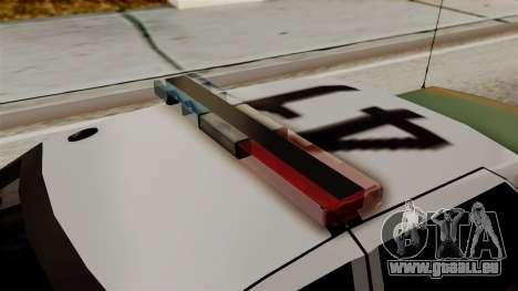 Ford Crown Victoria LP v2 Sheriff New pour GTA San Andreas vue de droite