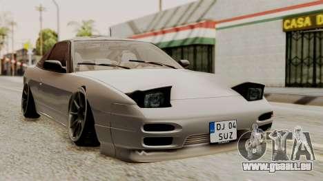 Nissan 240SX HQ für GTA San Andreas