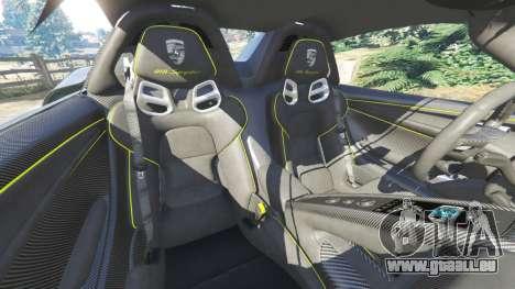 GTA 5 Porsche 918 Spyder 2014 [HD] volant
